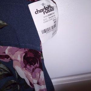 Charlotte Russe Dresses - Charlotte Russe floral dress size xs